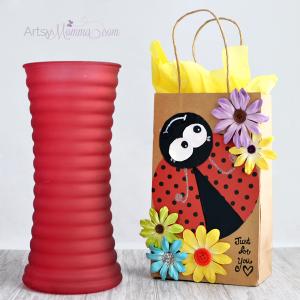DIY Ladybug Gift Bag using Xyron® Creative Station Lite