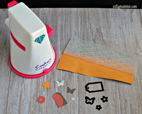 Craft Projects using the Diamond Press by Crafter's Companion