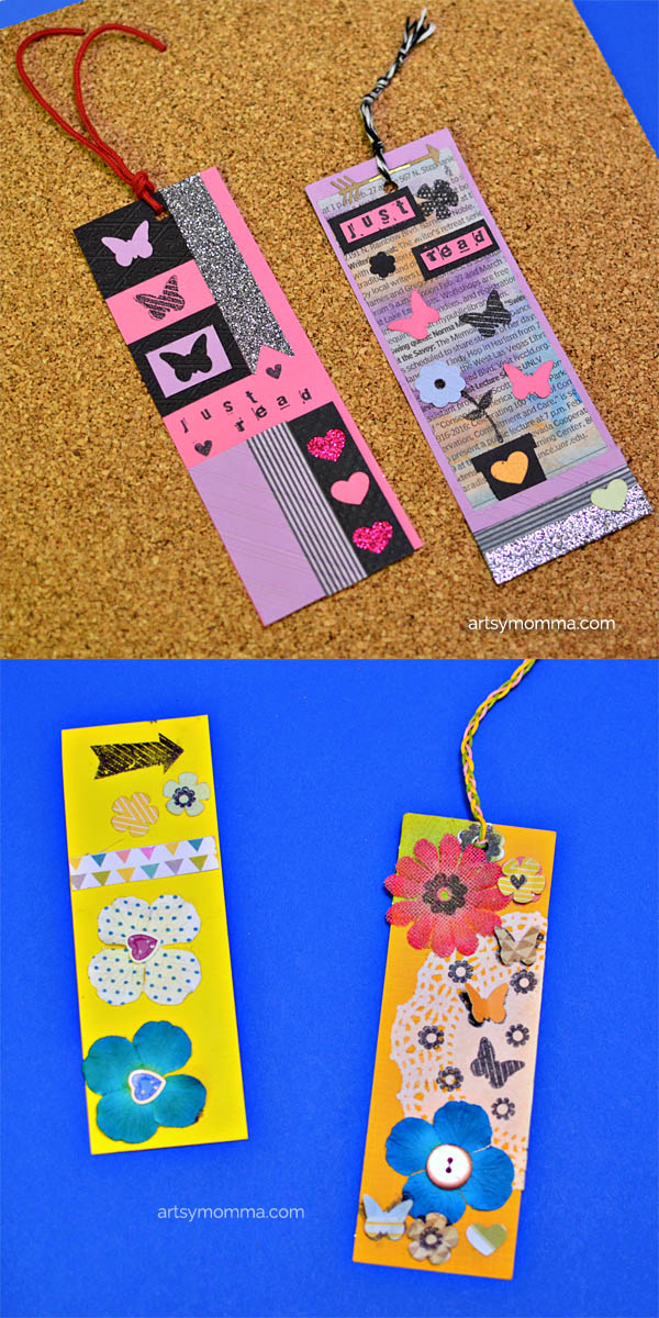 Die Cut & Embossed Bookmark Craft