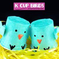 Make K Cup Birds to Celebrate Spring!