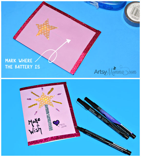 Light Up LED Birthday Card Tutorial - STEM Project