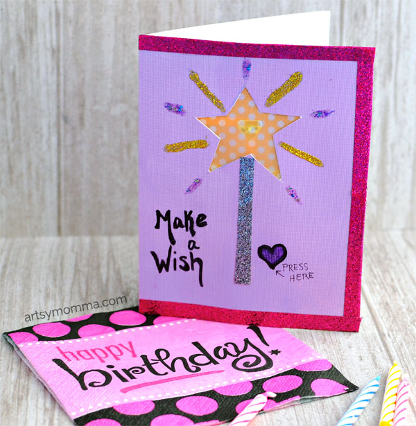 Make a Wish Light Up Birthday Card