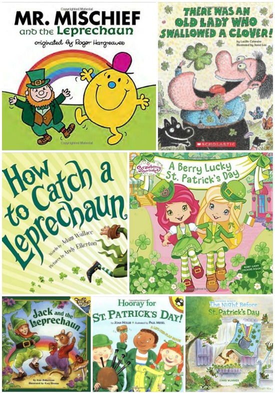 10 Kids Books About St Patrick's Day