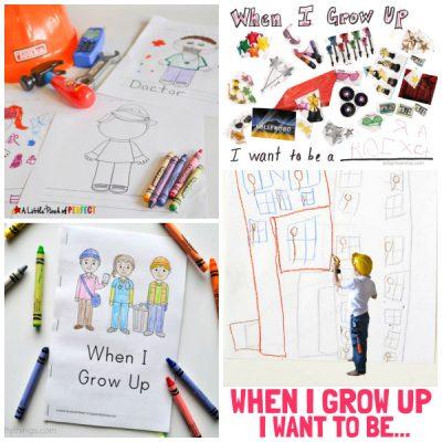 'When I Grow Up' Preschool Theme