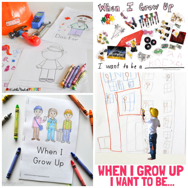 When I Grow Up Crafts and Activities for Preschoolers