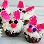 Cutest Ever Bunny Cupcakes – Recipe Tutorial