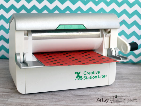 Xyron® Creative Station Lite Project Tutorial