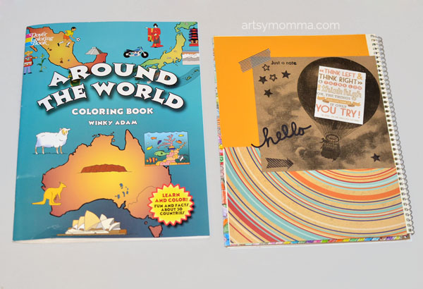 Around the World Coloring Book for Kids