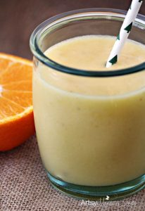 Banana Orange Smoothie Recipe - Perfect Summer Drink!