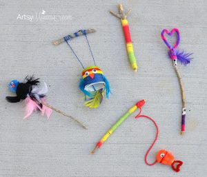 Crafting With Sticks - DIY Toys for Imaginative Play