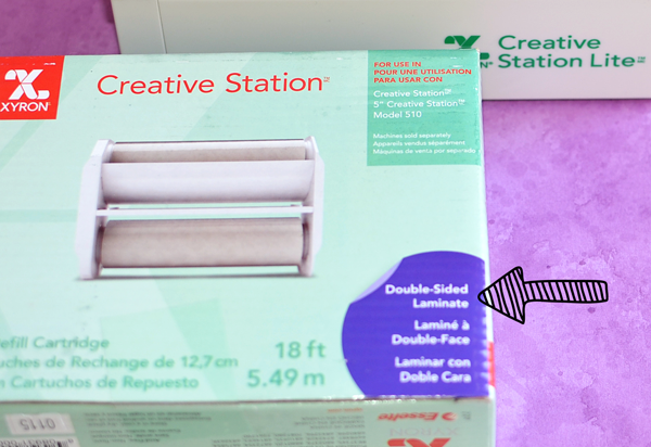 Creative Station Lite Laminating Project