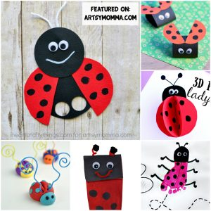 Darling Ladybug - Kids Crafts