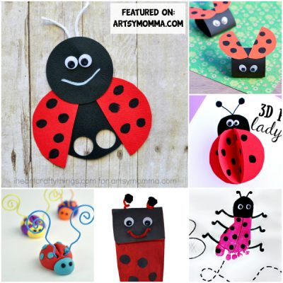 Darling Ladybug Crafts Kids Will Love!