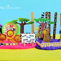 DIY Zoo Playdough Kit – Tutorial