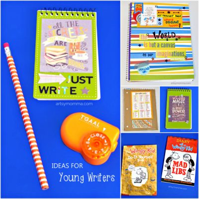Gift Ideas for Encouraging Young Writers