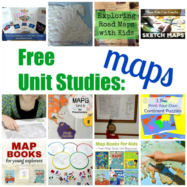 Map Resources for Kids
