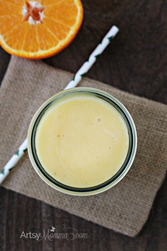 Frozen Banana Orange Smoothie Recipe