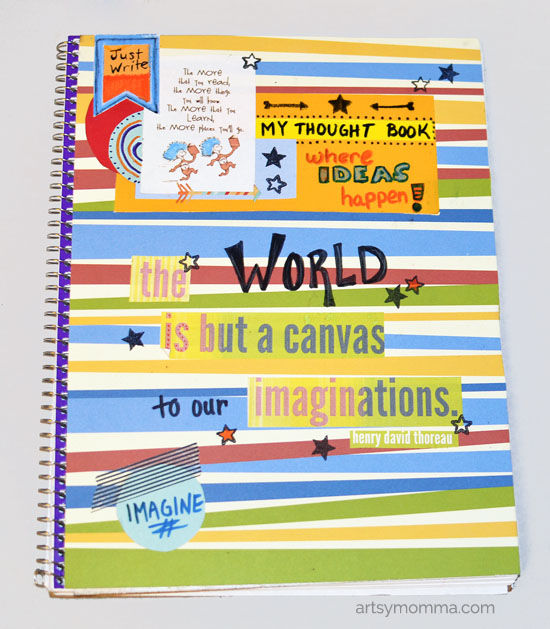 My Thought Book - Decorated Notebook for Young Writers