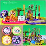 DIY Zoo Playdough Kit Tutorial