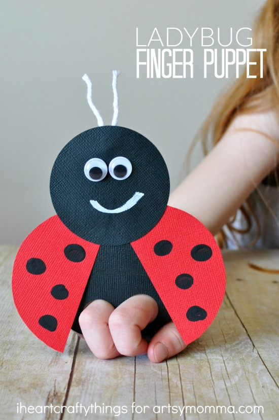 How To Make Ladybug Arts And Crafts