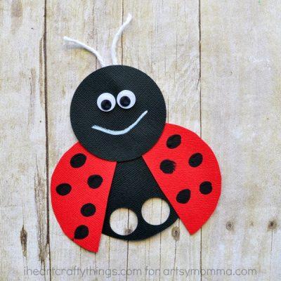 Mega Adorable Ladybug Finger Puppet