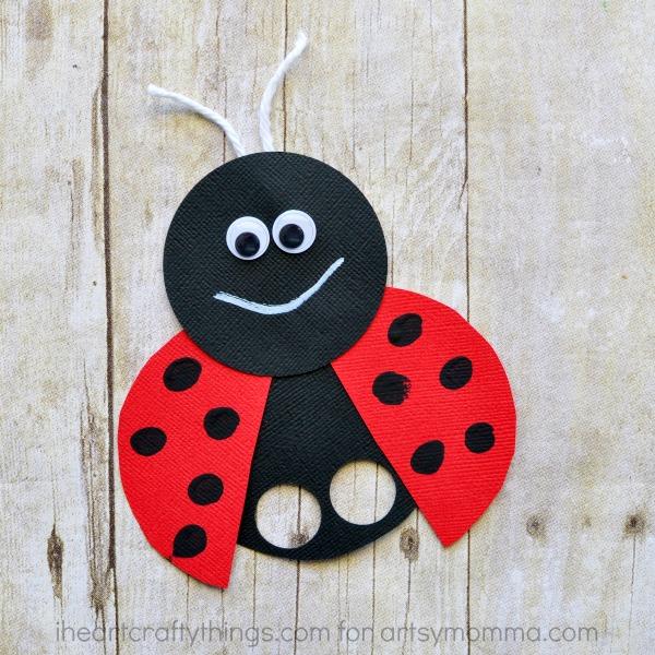 Super Cute Ladybug Finger Puppet