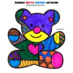 Vibrant Artwork Inspired by Pop Artist Romero Britto