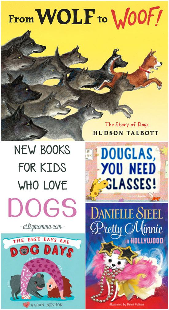 4 Fun New Books Perfect for Young Kids Who Love Dogs!