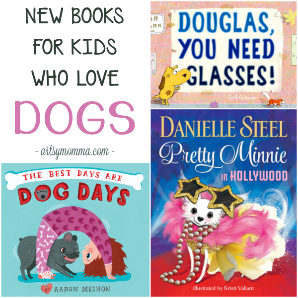 4 Adorable New Books for Kids Who Love Dogs