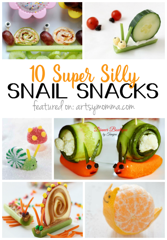 10 Sweet & Silly Snail Snacks for Kids