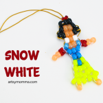 Snow White Pony Bead Jewelry Box Craft for Kids