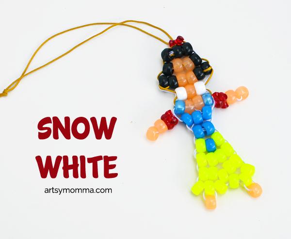 Snow White Pony Bead Craft
