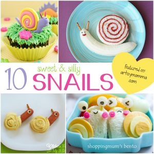 10 Sweet and Silly Snail Snacks