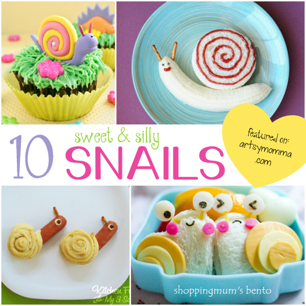 10 Super Cute Snail Food Ideas that are Fun for Kids!