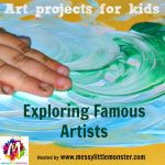 Learning About the Great Artists Inspired Art Projects for Kids