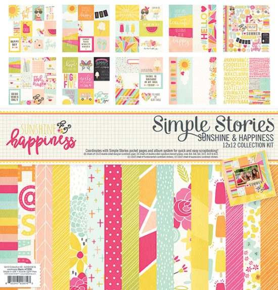 Simple Stories Sunshine & Happiness