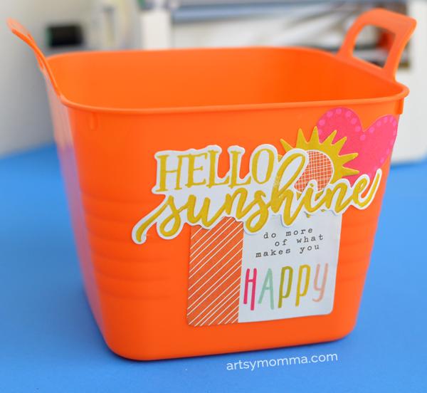 Diy Bucket of Sunshine & Happiness