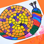 Count to 100 Printable Snail Activity