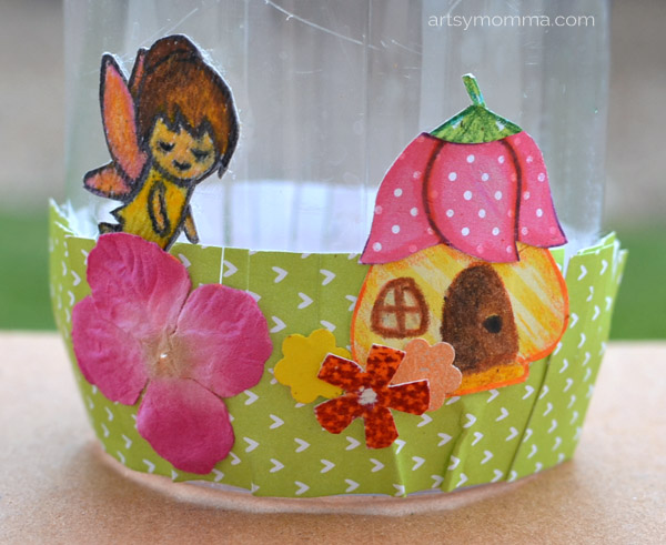 Glitter Fairy Jar Craft Tutorial