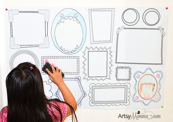 Plaeful Wall Decal - Drawing Fun for Kids that they can do over & over again!