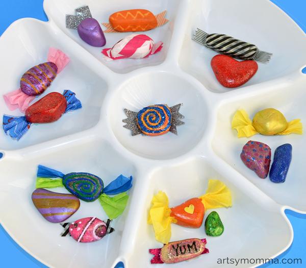 DIY Toys: Candy Rocks Craft Tutorial