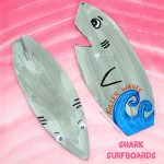 Shark Surfboard Craft for Kids