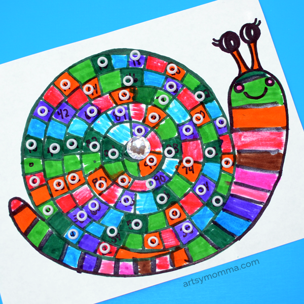 Learn to Skip Count with a Printable Snail Activity