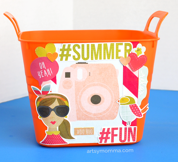 Bucket of Summer Fun End of the School Year Gift Idea
