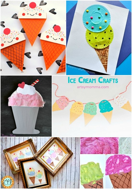 25 Cool Ice Cream Crafts, Pretend Play, Learning Activities & more!