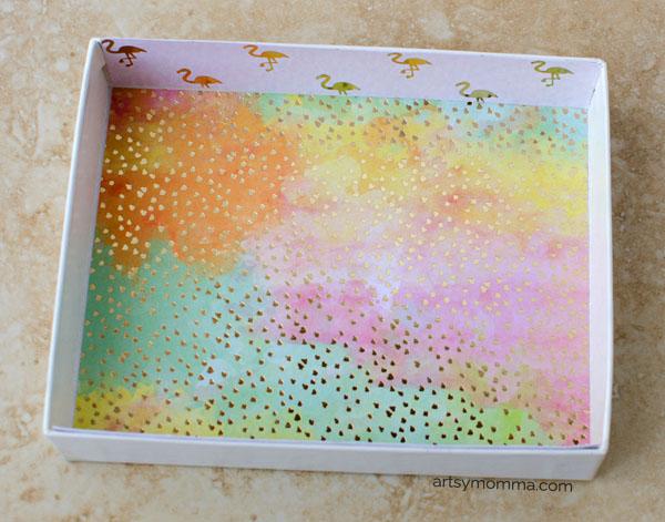 Kids Cardboard Box Marble Maze Game