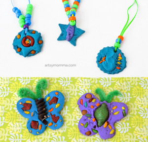 Make Colored Pasta Craft Projects Using Clay