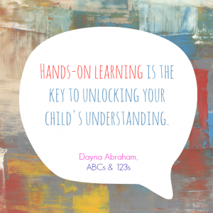 Hands-on Learning Quote - Children