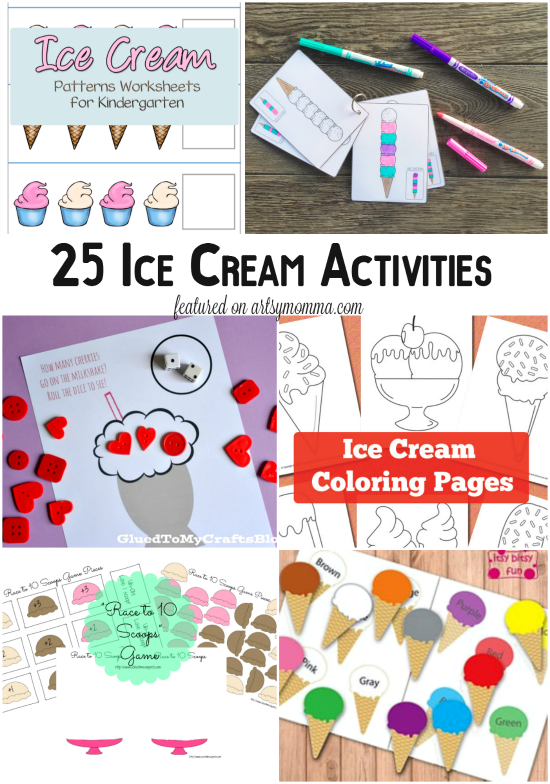 Ice Cream Inspired Learning Activities
