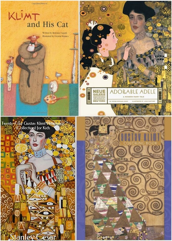 Gustav Klimt Books for Kids
